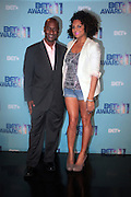 17 May 2011- New York, NY - l to r: Stephen Hill, BET President of Entertainment & Music Programming and Marsha Ambrosius at the 106 & Park's BET Awards Announcement held at BET Studios on May 17, 2011 in New York City. Photo Credit: Terrence Jennings