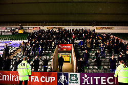 Bristol Rovers fans - Mandatory by-line: Ryan Hiscott/JMP - 17/12/2019 - FOOTBALL - Home Park - Plymouth, England - Plymouth Argyle v Bristol Rovers - Emirates FA Cup second round replay