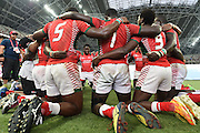 Kenya team group (KEN), APRIL 17, 2016 - Rugby : HSBC Sevens World Series, Singapore Sevens match Kenya and Fiji (Cup Finals) at National Stadium in Singapore. (Photo by Haruhiko Otsuka/AFLO)