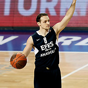 Efes Pilsen's Igor RAKOCEVIC during their Turkish Airlines Euroleague Basketball Top 16 Group G Game 6 match Efes Pilsen between Partizan at Sinan Erdem Arena in Istanbul, Turkey, Thursday, March 03, 2011. Photo by TURKPIX