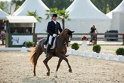 Jorissen Philippe (BEL) - Le Beau<br /> Belgisch Kampioenschap dressuur <br /> Hulsterlo - Meerdonk  2014<br /> © Dirk Caremans