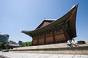 Deoksugung palace.