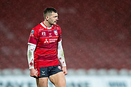 Jonny May of Gloucester Rugby during the Gallagher Premiership Rugby match between Gloucester Rugby and Exeter Chiefs at the Kingsholm Stadium, Gloucester, United Kingdom on 26 March 2021.