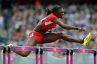 LONDON OLYMPIC GAMES 2012 - OLYMPIC STADIUM , LONDON (ENG) - 06/08/2012 - PHOTO : POOL / KMSP / DPPI<br /> ATHLETICS - WOMEN'S 100 M HURDLES - DAWN HARPER (USA)