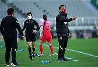 South Korea v China, 2020 Tokyo Olympic Women's football tournament playoff, football, Goyang Stadium, Goyang, South Korea, 8 Apr 2021.