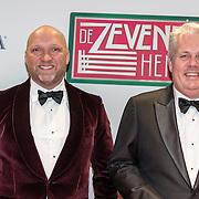 NLD/Amsterdam/20161111 - Oremière film De Zevende Hemel, Ruben van der Meer en Thomas Acda