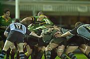 Northampton, Northamptonshire,  7th December 2002, [Mandatory Credit: Peter Spurrier/Intersport Images],Heineken European Cup - Franklin Gardens - Northampton vs Cardiff