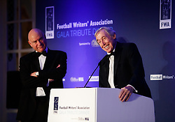 File photo dated 21-01-2018 of Gordon Banks during his speech at the Football Writers Association Tribute Night at The Savoy, London.