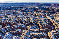 Sandstone formations in Canyonlands National Park