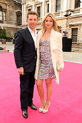 NICK CANDY and HOLLY VALANCE  at the Royal Academy of Arts Summer Party held at Burlington House, Piccadilly, London on 9th June 2010.