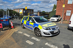 © Licensed to London News Pictures. 19/08/2018<br /> New Eltham, UK. Police at the scene of a Hammer attack on two women in New Eltham, south east London. Police are currently searching for 27 year old Joe Xuereb in connection with the attack. <br /> Photo credit: Grant Falvey/LNP