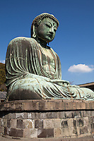 "The Great Buddha of Kamakura, or ""Daibutsu"" as it is known in Japanese, is Kamakura's most famous attraction.  Immortalized by a poem of Rudyard Kipling ""The Great Buddha of Kamakura""."