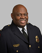 Houston ISD Police Lt. James Bridges poses for a photograph, July 14, 2014.