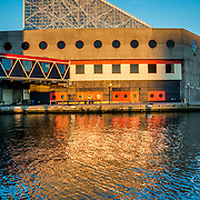 Reflection of part of the National Aquarium in Baltimore