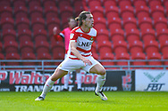 John Marquis of Doncaster Rovers (9) reacts during the EFL Sky Bet League 1 match between Doncaster Rovers and Coventry City at the Keepmoat Stadium, Doncaster, England on 4 May 2019.