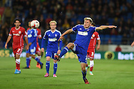 Jonathan Parr of Ipswich Town. Skybet football league championship match, Cardiff city v Ipswich Town at the Cardiff city stadium in Cardiff, South Wales on Tuesday 21st October 2014<br /> pic by Andrew Orchard, Andrew Orchard sports photography.