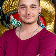 NLD/Amsterdam/20170330 - Perspresentatie Peking Express 2017, Frank