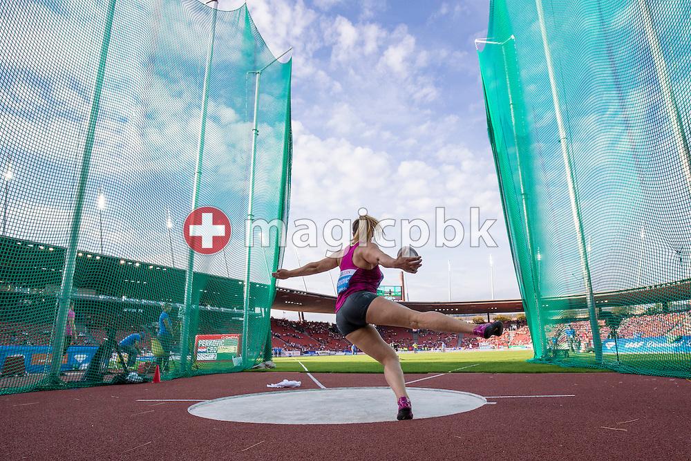 Iaaf Diamond League meeting at the Letzigrund Stadium in Zurich, Switzerland, Thursday, Aug. 28, 2014. (Photo by Patrick B. Kraemer / MAGICPBK)