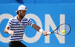 Spain's Feliciano Lopez during his match against Switzerland's Stan Wawrinka during day two of the 2017 AEGON Championships at The Queen's Club, London.