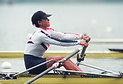 Tampere Kaukajaervi,  FINLAND.  Women's Lightweight Single Sculls, USA. LW1X Molly BROCK,  competing at the 1995 World Rowing Championships - Lake Tampere, 08.1995<br /> <br /> [Mandatory Credit; Peter Spurrier/Intersport-images] Re-Edited and file ref No. updated, 16th January 2021.