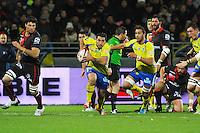 Ludovic RADOSAVLJEVIC - 28.12.2014 - Lyon Olympique / Clermont - 14eme journee de Top 14 <br /> Photo :  Jean Paul Thomas / Icon Sport