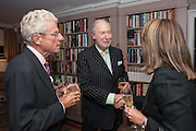 CHRISTOPHER BALFOUR; ED VICTOR, Dinner to celebrate the opening of Pace London at  members club 6 Burlington Gdns. The dinner followed the Private View of the exhibition Rothko/Sugimoto: Dark Paintings and Seascapes.
