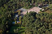 Nederland, Gelderland, Gemeente Ede, 03-10-2010; Nationaal Park De Hoge Veluwe, bezoekerscentrum en restaurant De Koperen Kop.luchtfoto (toeslag), aerial photo (additional fee required).foto/photo Siebe Swart