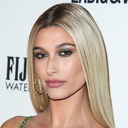 """(FILE) Hailey Baldwin Reportedly Trademarks Married Name 'Hailey Bieber'. Hailey Baldwin is planning for her future as Mrs. Justin Bieber. The model staked her claim to the name 'Hailey Bieber' by filing to trademark the moniker on Oct. 10. It appears the model is intending on creating a clothing line under her married name since the purpose is listed as """"clothing"""" in the application. MANHATTAN, NEW YORK CITY, NY, USA - SEPTEMBER 06: Model Hailey Rhode Baldwin wearing a Tommy Hilfiger dress and Lorraine Schwartz jewelry arrives at the Daily Front Row's 2018 Fashion Media Awards held at the Park Hyatt New York on September 6, 2018 in Manhattan, New York City, New York, United States. 06 Sep 2018 Pictured: Hailey Rhode Baldwin. Photo credit: Xavier Collin/Image Press Agency/MEGA TheMegaAgency.com +1 888 505 6342"""