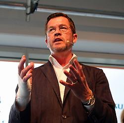 September 6, 2017 - Munich, Bavaria, Germany - Former minister Karl-Theodor zu Guttenberg talked to start-ups in Munich. (Credit Image: © Alexander Pohl/Pacific Press via ZUMA Wire)