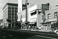 1977 Stores on east side of Cahuenga Blvd., just south of Hollywood Blvd.