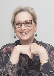 December 11, 2017 - FILE - Golden Globes 2018 Nominees - Nominated for Best Actress, Drama Meryl Streep, The Post - November 29, 2017 - Hollywood, California, U.S. - Actress MERYL STREEP promotes movie drama 'The Post' In Hollywood. (Credit Image: © Armando Gallo via ZUMA Studio)