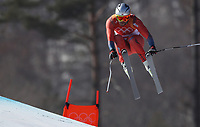 PYEONGCHANG,SOUTH KOREA,15.FEB.18 - OLYMPICS, ALPINE SKIING - Olympic Winter Games PyeongChang 2018, downhill, men. Image shows Aksel Lund Svindal (NOR).<br /> <br /> Norway only