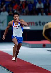 29-04-2007 TURNEN: EUROPEES KAMPIOENSCHAP: AMSTERDAM<br /> Jeffrey Wammes haalt bronzen medaille op sprong - DSB en AA drink<br /> ©2007-WWW.FOTOHOOGENDOORN.NL