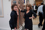 JEANETTE WINTERSON; DR. SUSIE ORBACH; , Royal Academy of Arts Annual dinner. Royal Academy. Piccadilly. London. 1 June <br /> <br />  , -DO NOT ARCHIVE-© Copyright Photograph by Dafydd Jones. 248 Clapham Rd. London SW9 0PZ. Tel 0207 820 0771. www.dafjones.com.