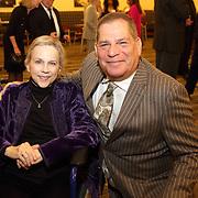 Honoree Sarah Bryan Miller, President Bill Greenblatt