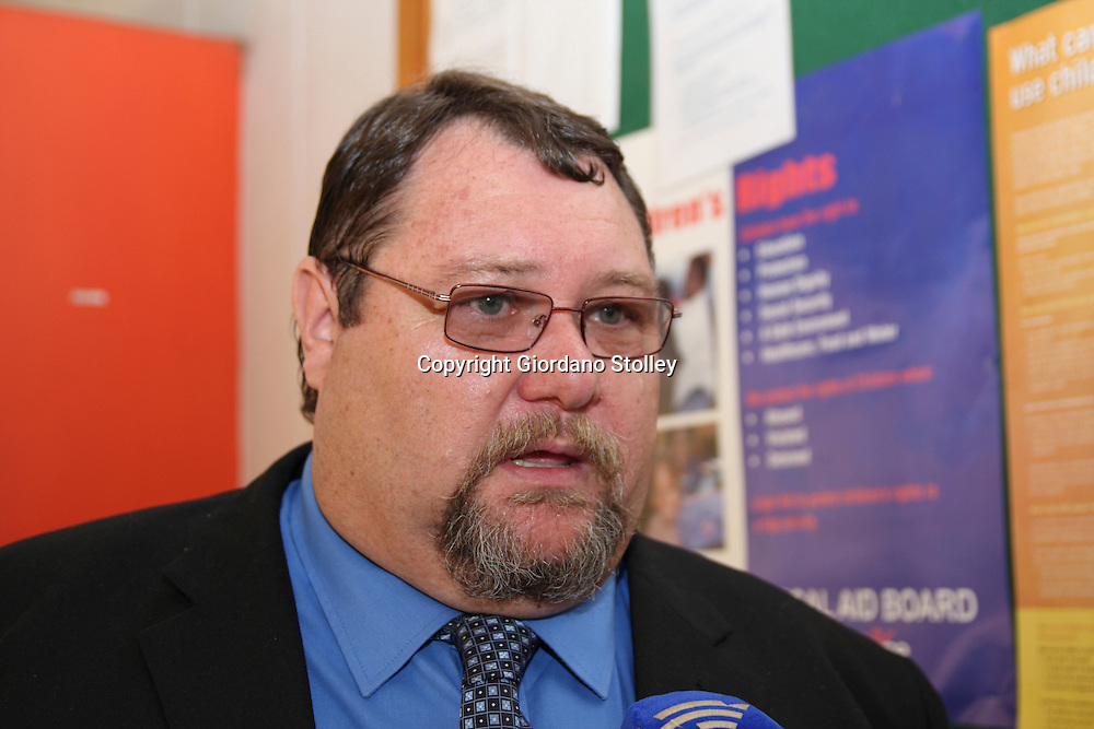 PRETORIA - 14 September 2010 - Nico Venter Snr speaks to the press outside the Pretoria North Magistrates Court after police withdrew all charges against his son Nico Venter Jnr in connection with the murder and rape of 17-year old Anika Smit, whose hands were also chopped off..Picture: Giordano Stolley/Allied Picture Press