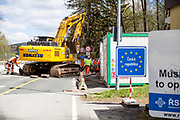 The closed state border in between Germany and Czech Republic in Bayerisch Einsenstein after the corona virus outbreak changed our public lifes. Czech Republic is in the state of emergency and just their own citizens or foreigners with a residence permit are allowed to enter.