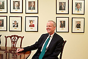 U.S. Sen. Jerry Moran (R-KS) was elected Chairman of the National Republican Senatorial Committee. Moran and National Republican Senatorial Committee Executive Director Rob Collins, Political Director Ward Baker and Communications Director Brad Dayspring sit down for an interview with Wall Street Journal reporters.