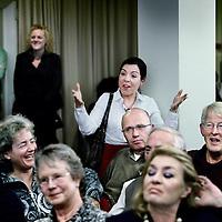 Nederland, Zandvoort , 27 januari 2011..voorlichtingsbijeenkomst in NH hotel over de damherten die in het duingebied rond Zandvoort en omstreken overlast zouden veroorzaken..Foto:Jean-Pierre Jans