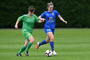 Southern United's Britney-Lee Nicholson in action in the National womens league football match, Central Football v Southern United, Massey University, Palmerston North, Sunday, December 02, 2018. Copyright photo: Kerry Marshall / www.photosport.nz