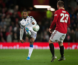 Ryan Jackson of Colchester United in action - Mandatory by-line: Jack Phillips/JMP - 18/12/2019 - FOOTBALL - Old Trafford - Manchester, England - Manchester United v Colchester United - English League Cup Quarter Final