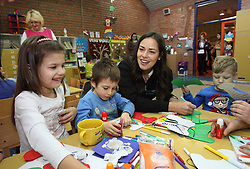 """Ana Ivanovic releases a photo on Twitter with the following caption: """"""""Children with disabilities can shine when given the opportunity to go to school and be part of their communities. Let's support them together! Watch@unicefsrbijaTelethon on 16 December on #PrvaTV. Find out how you can help:https://t.co/WZBhynB23N"""""""". Photo Credit: Twitter *** No USA Distribution *** For Editorial Use Only *** Not to be Published in Books or Photo Books ***  Please note: Fees charged by the agency are for the agency's services only, and do not, nor are they intended to, convey to the user any ownership of Copyright or License in the material. The agency does not claim any ownership including but not limited to Copyright or License in the attached material. By publishing this material you expressly agree to indemnify and to hold the agency and its directors, shareholders and employees harmless from any loss, claims, damages, demands, expenses (including legal fees), or any causes of action or allegation against the agency arising out of or connected in any way with publication of the material."""