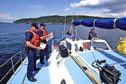 Coast Guard Boarding