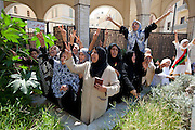 Sco0033837 .  Daily Telegraph..Jubilant Libyans after Friday prayers at the Masjed Jamal Abdel Nasser Mosque in central Tripoli . The first since the ousting of Gadaffi's regime by rebel forces...Tripoli 26 August 2011. ............Not Getty.Not Reuters.Not AP.Not Reuters.Not PA