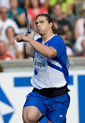 Tero Jarvenpaa of Finland competes in the men's Javelin Throw Final during day nine of the 12th IAAF World Athletics Championships at the Olympic Stadium on August 23, 2009 in Berlin, Germany. (Photo by Vid Ponikvar / Sportida)