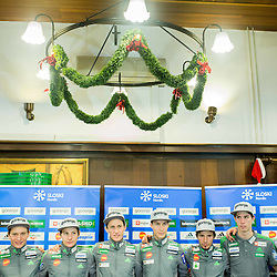 20151222: SLO, Ski Jumping - Press conference of Slovenian National Team