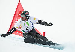 Jasey Jay Anderson of Canada competes during 1/8 Finals of the Men's Parallel Giant Slalom at FIS World Championships of Snowboard and Freestyle 2015, on January 23, 2015 at the WM Piste in Lachtal, Austria. Photo by Vid Ponikvar / Sportida