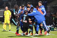 Joie Marseille - 01.05.2015 - Metz / Marseille - 35e journee Ligue 1<br />Photo : Fred Marvaux / Icon Sport