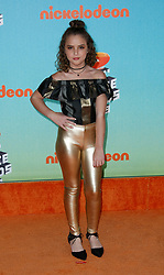 March 23, 2019 - Los Angeles, CA, USA - LOS ANGELES, CA - MARCH 23: Lexy Kolker attends Nickelodeon's 2019 Kids' Choice Awards at Galen Center on March 23, 2019 in Los Angeles, California. Photo: CraSH for imageSPACE (Credit Image: © Imagespace via ZUMA Wire)