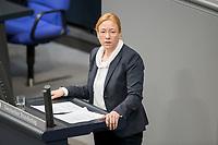 14 FEB 2019, BERLIN/GERMANY:<br /> Dagmar Schmidt, MdB, SPD, Bundestagsdebatte, Plenum, Deutscher Bundestag<br /> IMAGE: 20190214-01-032<br /> KEYWORDS: Bundestag, Debatte